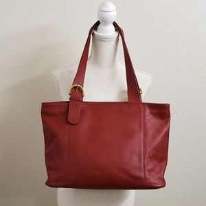 COACH - Lafayette Red XLarge Leather Tote